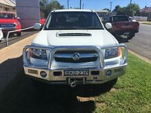 2009 Holden Colorado RC MY09 LX (4x4) White 5 Speed Manual Crewcab Young Young Area Preview