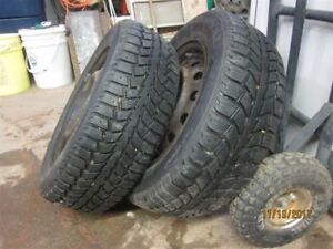 Uniroyal Snow Tires 2 in total