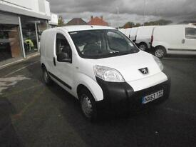 Peugeot Bipper 1.3 Hdi 75 S [Non Start/Stop] Plus Pack DIESEL MANUAL (2013)