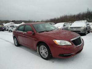 2011 CHRYSLER 200 WINTER TIRES & WARRANTY INCLUDED!