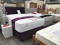 NEW - ROYAL PILLOW TOP BED & MATCHING HEADBOARD - 5 YEAR GUARANTEE - DELIVERED NATIONALLY