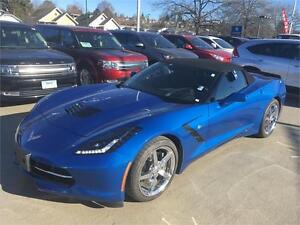 2015 Chevrolet Corvette Convertible 3LT blue auto loaded