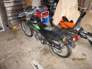 **NEW PRICE** 2010 Kawasaki Super Sherpa Dual Sport - 721km!
