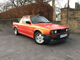BMW 3 SERIES 1.8 318I LUX 2d 115 BHP PICKUP EX SHOWCAR+ONLY ONE (orange) 1991