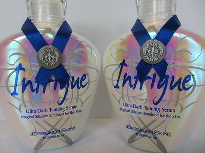 Lot Of 2 Intrigue Tanning Lotion By Designer Skin