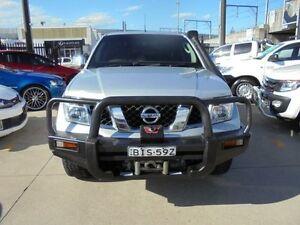 2009 Nissan Navara D40 ST-X Silver 6 Speed Manual 4D Utility Holroyd Parramatta Area Preview
