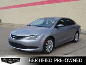 2016 Chrysler 200 LX Accident Free,  A/C,