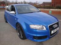 "07 AUDI RS4 B7 4.2 QUATTRO //SPRINT BLUE// 20"" ALLOYS//NEW BRAKES//LOW MILES//"