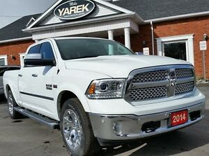 2014 Ram 1500 Laramie 4x4, Longbox, Air Suspension, NAV, Leather