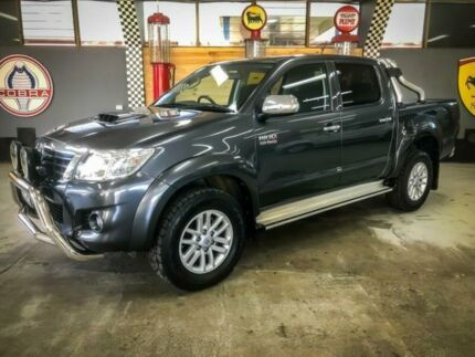 2015 Toyota Hilux KUN26R MY14 SR5 (4x4) Graphite 5 Speed Automatic Dual Cab Pick-up Fyshwick South Canberra Preview