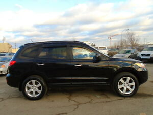 2009 Hyundai Santa Fe LIMITED 4WD SPORT PKG-LEATHER-SUNROOF