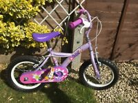 "Apollo Kids 14"" bike with stabilisers"