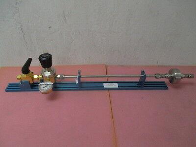 Kinetics high purity gas stick, Tescom 150 regulator, Swagelok B-45S8, myrolis