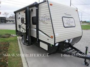 COACHMEN CLIPPER 17FQ - QUEEN BED - UNDER 3,000LBS - FOR SALE