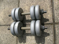 A Pair of Orbatron Dumbells