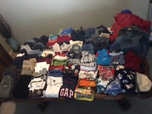 HUGE lot of boys clothes; Size 2 – 2T: $80.00
