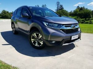 2017 Honda CR-V RW MY18 VTi FWD Grey 1 Speed Constant Variable Wagon Gympie Gympie Area Preview