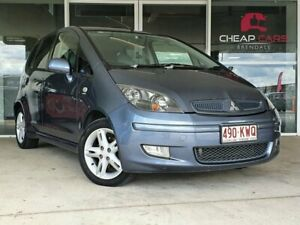 2005 Mitsubishi Colt RG XLS Blue 1 Speed Constant Variable Hatchback Brendale Pine Rivers Area Preview