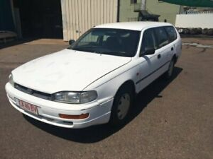 1995 Toyota Camry SDV10 CSi White 5 Speed Manual Wagon Berrimah Darwin City Preview