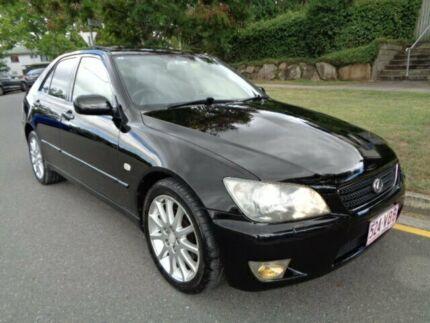 2005 Lexus IS300 JCE10R Sports Luxury Black 5 Speed Automatic E-Shift Sedan Chermside Brisbane North East Preview