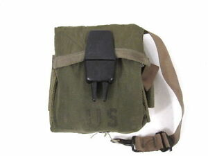 Vietnam-M1967-Nylon-Rifle-Ammunition-Pouch-1st-Pattern-20rd-Magazine-68-Unissued