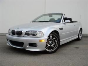 2002 BMW M3 |CERTIFIED|6 SPD|LOW KMS|EXTREMELY RARE|CONVERTIBLE|