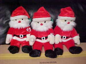 TY Beanie Buddy Santa NEW