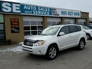 2008 Toyota RAV4 Limited SUV, 121000 Kms $11995 Certified