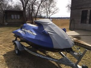 2009  Waverunner, Trailer, Cover and Lift,