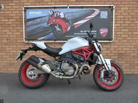 DUCATI M821 MONSTER - ONLY 981 MILES