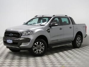 2015 Ford Ranger PX MkII Wildtrak 3.2 (4x4) Silver 6 Speed Automatic Dual Cab Pick-up Jandakot Cockburn Area Preview