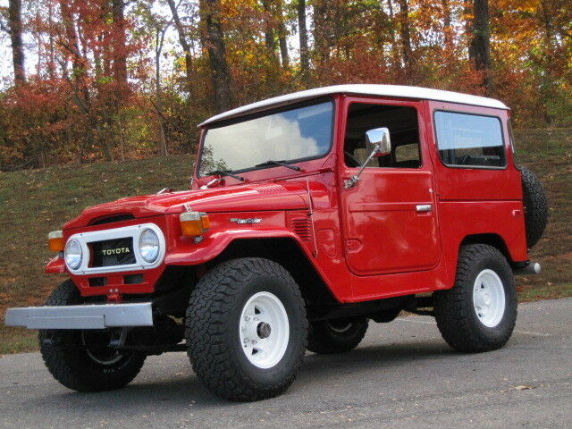 toyota land cruiser fj40 1976 looking for a real bargain. Black Bedroom Furniture Sets. Home Design Ideas