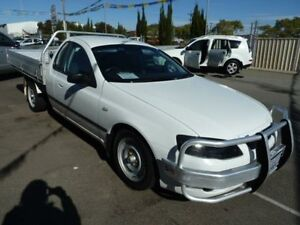 2008 Ford Falcon BF MkII XL (LPG) Tradesman White 4 Speed Automatic Cab Chassis Wangara Wanneroo Area Preview