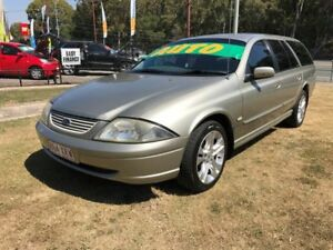 2002 Ford Falcon Auiii Forte Gold 4 Speed Automatic Wagon Clontarf Redcliffe Area Preview