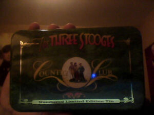 The Three Stooges Country Club Numbered Limited Edition Tin
