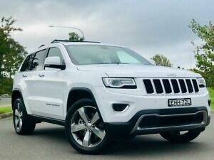 2015 Jeep Grand Cherokee WK MY15 Limited White 8 Speed Sports Automatic Wagon Blacktown Blacktown Area Preview