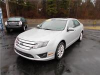 2010 FORD FUSION SEL...LOADED WITH LEATHER INTERIOR & SUNROOF!!