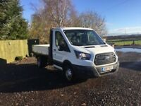 Ford transit 350 tipper 2017