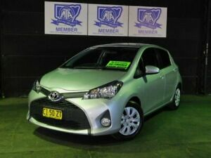 2016 Toyota Yaris NCP131R SX Silver Pearl 4 Speed Automatic Hatchback Albion Park Rail Shellharbour Area Preview