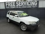 2006 Subaru Forester 79V MY07 X AWD White 4 Speed Automatic Wagon Reynella Morphett Vale Area Preview