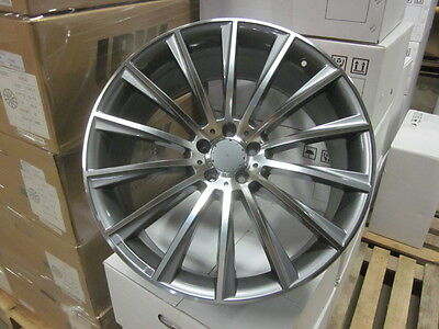 4  Set Of Brand New S550 Style 22  Amg Gunmetal Rims Wheels Fits Mercedes Benz