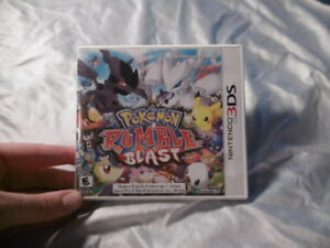 Pokemon Rumble Blast 3DS Used Great Condition