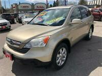 2007 Honda CR-V EX-L 4WD LEATHER LOADED...MINT COND.