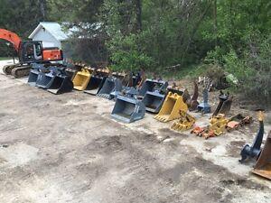 Excavator Attachments For Sale