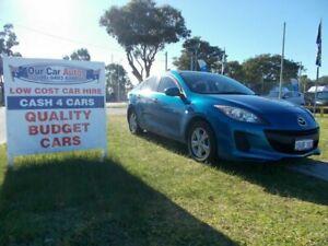 2011 Mazda 3 BL 10 Upgrade Neo Blue 5 Speed Automatic Sedan Maddington Gosnells Area Preview