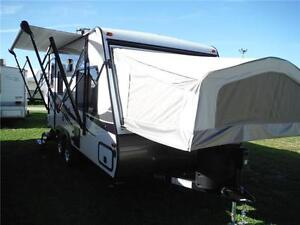 2017 Solaire 163X Luxury Ultra Lite Hybrid Trailer - Sleeps 8