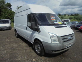 Ford Transit 350 LWB HR, NO VAT (white) 2007