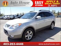 2010 Hyundai Veracruz Limited AWD LEATHER ROOF DVD