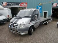 FORD TRANSIT 2.4 350 LWB EF 1d 115 BHP RECOVERY TRUCK (silver) 2008
