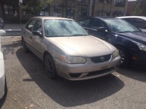 2001 Toyota Corolla CE SEDAN*AIR CONDITIONING*